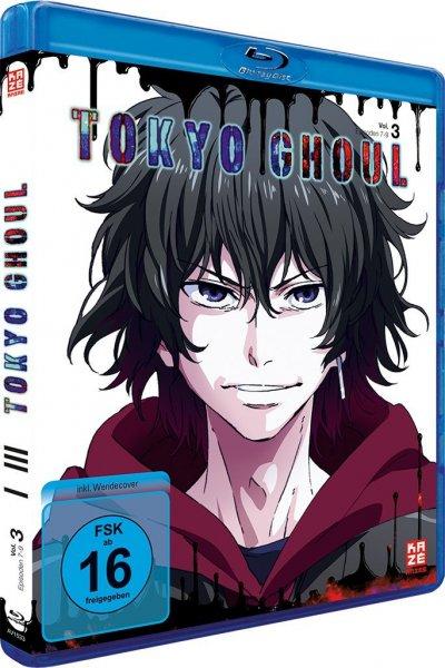 Tokyo Ghoul Vol. 3 Blu-ray - Amazon Vorbestellung (für Prime 20,06€)