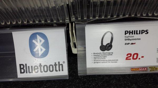 (Regional)SHB 4000 Philips Bluetooth Kopfhörer Medi Max Lüneburg