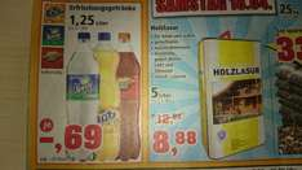 Evtl. Lokal Sprite Mezzo Fanta Thomas Philips KW16 für € 0,69 1,25 L