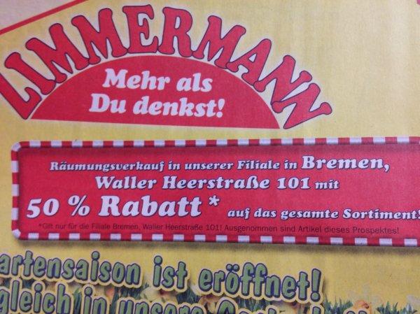 [Bremen Walle] Zimmermann 50% auf das ganze Sortiment !