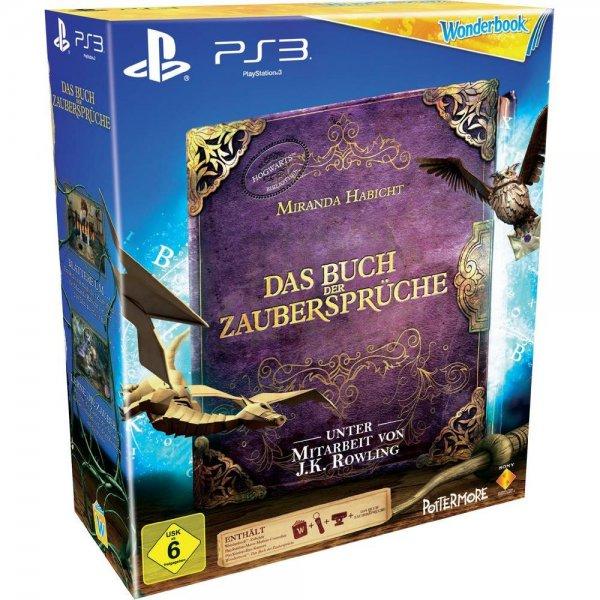 [PS3] Für den Nachwuchs: Wonderbook + alle 4 Wonderbook-Spiele + Ladestation + Ladekabel für 19,81€ inkl. Versand