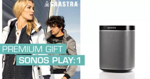 Für 450€ bei Gaastra einkaufen und Sonos Play:1 gratis erhalten