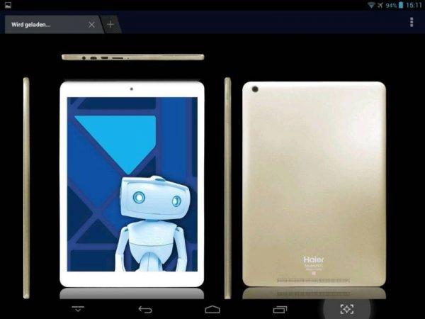 [Amazon] Haier Pad Mini 781 (7,85'' HD IPS, 1,6 GHz Quadcore, 1GB RAM, 16GB intern) für 81,45€