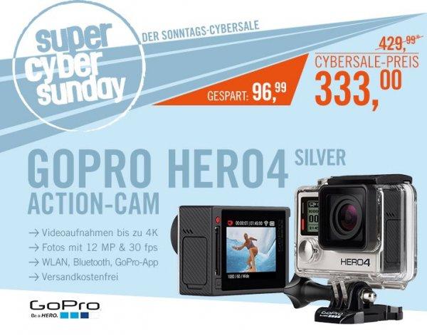 GoPro Hero 4 Silver für 333€ @ Cyberport - Actioncam