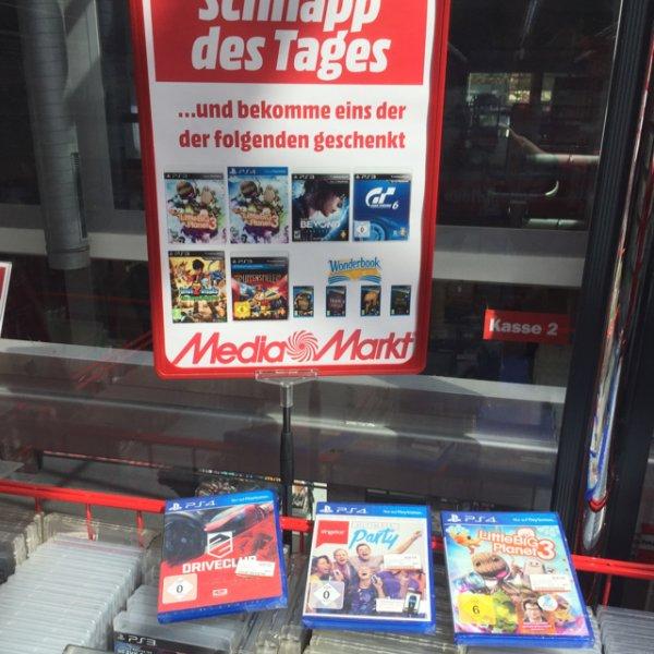 (Lokal MM Neuwied) Diverse Games gratis zum Kauf von Artikel ab 10€