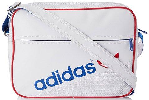 (Amazon.de) Adidas Umhängetasche Airline Bag Perforated Weiß
