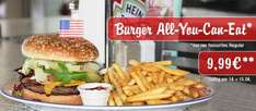 Burger - All You Can Eat, für nur 9,99 € bei Miss Pepper am 14.+15. April