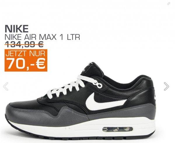 [Hannover] Nike Air Max 1 LTR für 70.- EUR u.a. bei Snipes in der Georgstraße