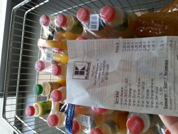 (Berlin Adlershof Kaufland) Granini Saft verschiedene Sorten 0,88€ pro Liter