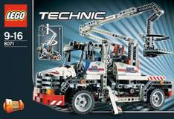 LEGO 8071 Technic 2 in 1 Service Truck / Telelader, @erasmus-toys