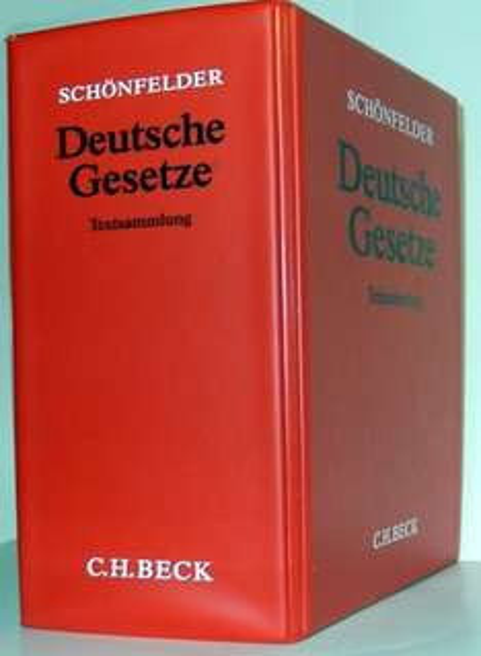 Gratis Schönfelder [nur für Jurastudenten] - Wert 39 €