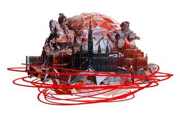 [Lokal Berlin] - ViennaSphere (360°-Projektionsdom) 17.-19. April 2015 - Freier Eintritt