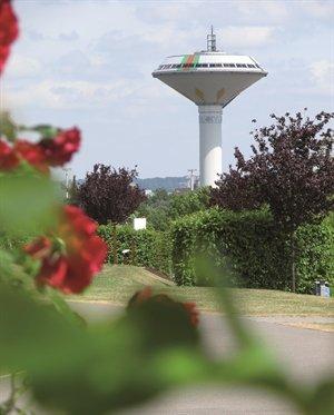 Leverkusen - EVL Wasserturm gratis Besichtigung jeden 1 & 3 Sonntag im Monat bis Ende September !