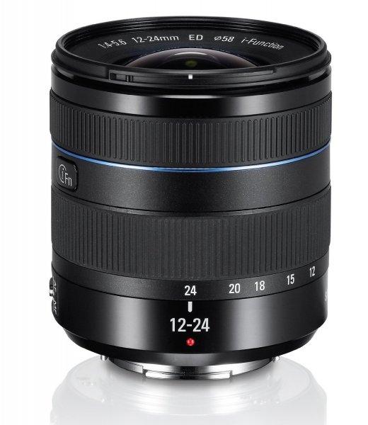 [Amazon] Samsung 12-24mm F4-5.6 Weitwinkelobjektiv für Samsung NX-Serie in schwarz