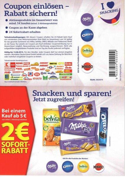 Kaufland Milka Schokolade 100g St. 0,44€