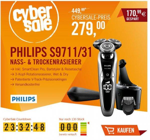 CYBERSALE - Nass- & Trockenrasierer Philips S9711/31