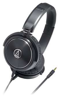 [Amazon] Audio Technica ATH-WS 99 Over-Ear Kopfhörer SOLID BASS für 75,48€