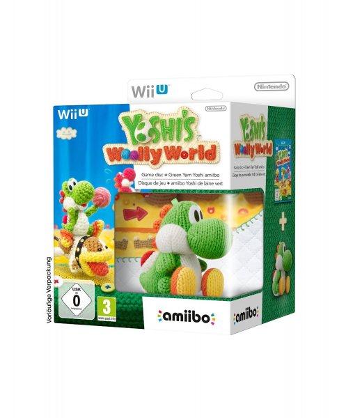 Yoshi's Woolly World inkl. Woll Yoshi Amiibo für 54,99€, Splatoon + amiibo für 39,98€ (Bestpreis) @saturn.de mit Newsletter Gutschein und Abholung im Markt