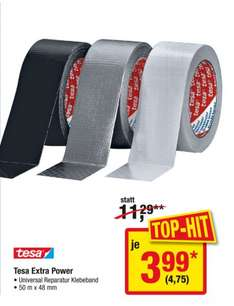 [Metro] Tesa Extra Power Klebeband, Ab Donnerstag, 16-22 April, knapp 50 % unter idealo