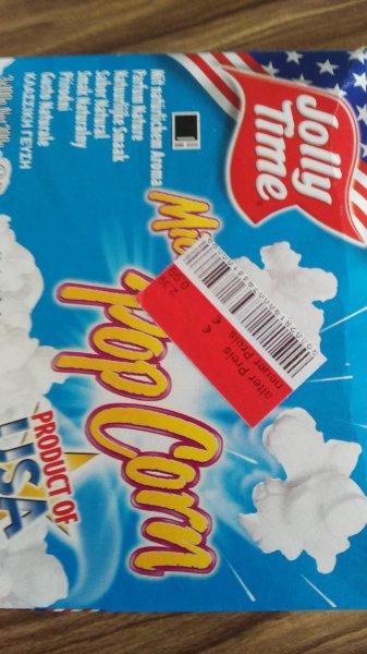 Jolly Time Mikrowellen Popcorn 0,99€