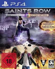 Saints Row IV: Re-elected + Gat Out of Hell PEGI (PS4 & Xbox One 24,95€ / PC 18,95€) (Normalpreise über 40€)