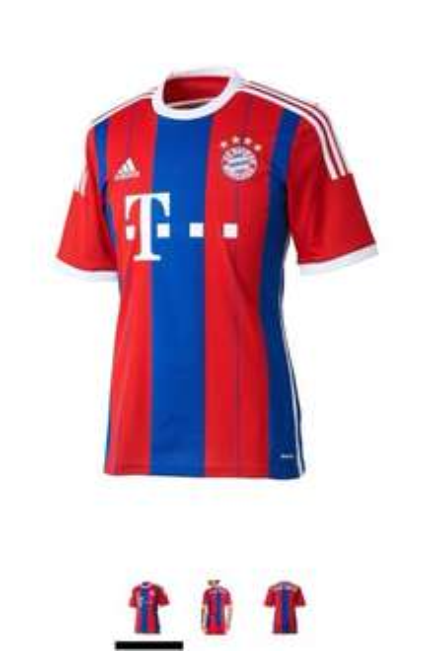 adidas Herren Trikot FC Bayern München Replica Heim
