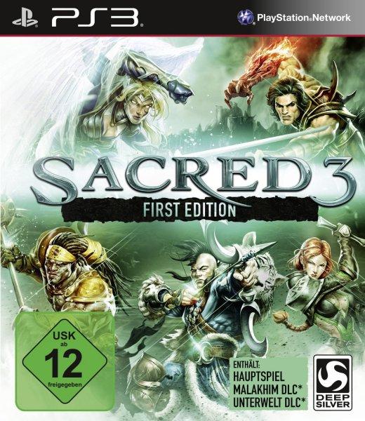 Sacred 3 PEGI (PS3 & Xbox 360 je 9,95€) (Normalpreise bei min. 17€) (Action-RPG)