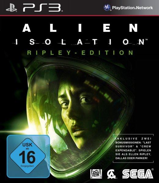 Alien: Isolation PEGI in verschiedenen Editionen (PS3 18,50€ / Xbox 360 19,99€) (PS4 29,95€ /Xbox One ab 24,99€)