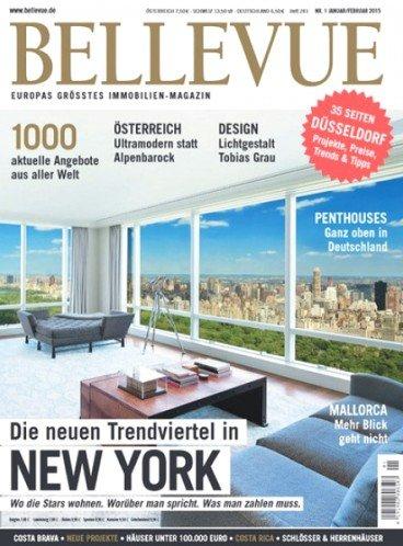"""Halbjahresabo der Zeitschrift """"Bellevue"""" für effektiv 70 Cent durch 20€ Universalgutschein bei 20,70€ Abokosten"""