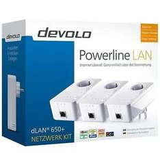 devolo dLAN 650+, Powerline 600 Mbit/s Network Kit für 79,99€ @ebay (Redcoon)