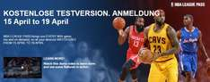 NBA League Pass - Kostenlose Testphase vom 15.-19. April