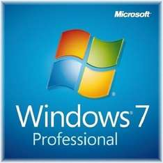 Windows 7 Professional 64-Bit Pro SP1 OEM WIN 7 Deutsch Multilanguage DVD + KEY @ebay 19,94 €