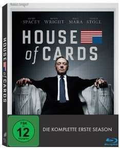 (Amazon.de) House of Cards - Staffel 1 auf Blu-Ray für 19,99€ + 3€ VSK