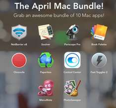 Bundle mit 10 Mac Apps ab $8 statt $173 (Pay what you want)