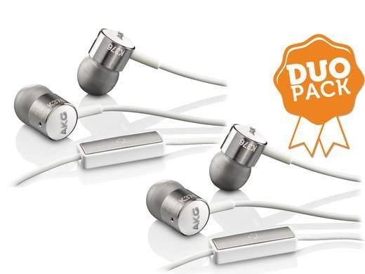 [Ibood] 2 x AKG K 376 Premium Aluminium In-Ear Kopfhörer mit Knopf Steuerung und Mikrofon für Android Smartphone für 55,90€ inc.Versand
