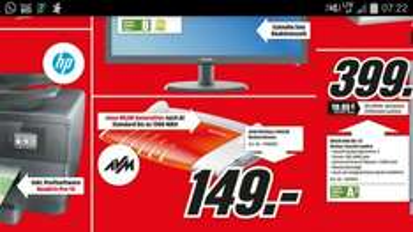 [Lokal] Fritz!Box 7490 für 149 Euro im Media Mark Koblenz/Neuwied