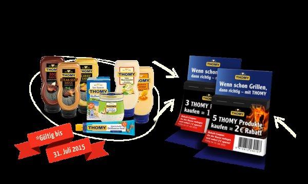 Kaufland KW17: Thomy Les Sauces mit Coupon ab 0,39 € (bundesweit)