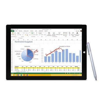Microsoft Surface Pro 3 Intel i3 4GB RAM 64GB Speicher