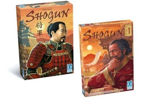 Brettspiel: Shogun Bundle (Shogun + Erw. Tenno´s Court) und weitere