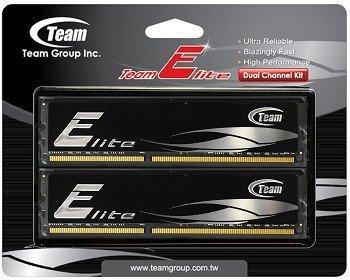 "Team Group™ - Arbeitsspeicher 8GB DIMM Kit ""Elite Black"" (PC3-12800 DDR3-1600,CL11,2x4GB) ab €46,22 [@HOH.de]"