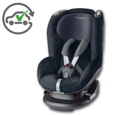 MAXI COSI Kinderautositz Tobi Total Black @baby-markt mit qipu