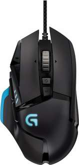 Logitech G502 Proteus Core Gamer Maus + Logitech G240 Cloth Gaming Mauspad für 49€ @Amazon.de