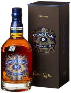 Chivas Regal 18 Years Gold Signature Blended Scotch Whisky (1 x 0.7 l), @Amazon Blitzangebot