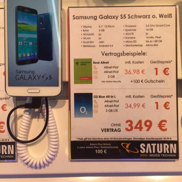 [Saturn Zwickau] Samsung Galaxy S5