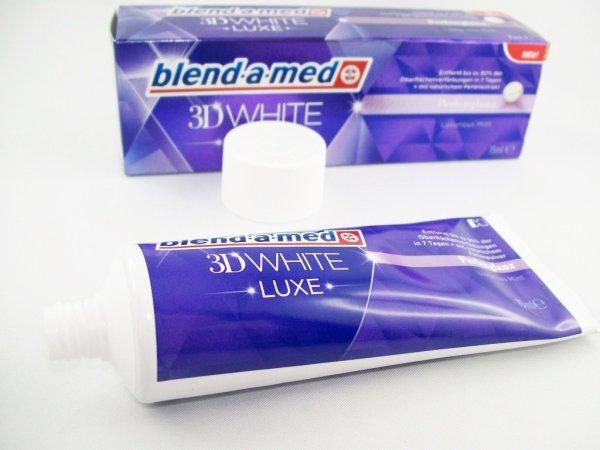 [KAUFLAND BUNDESWEIT] KW17: Blend-a-Med 3D Luxe White 75ml für nur 0,99€