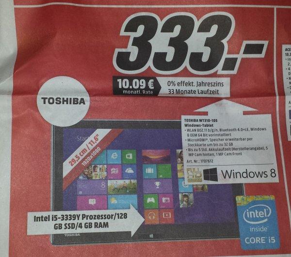 [Lokal MM Köln Marsdorf]  Toshiba WT 310-105 Tablet mit Win8