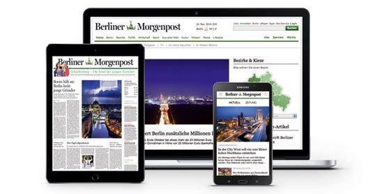 Berliner Morgenpost digital 1 Monat kostenlos lesen - Abo läuft automatisch aus