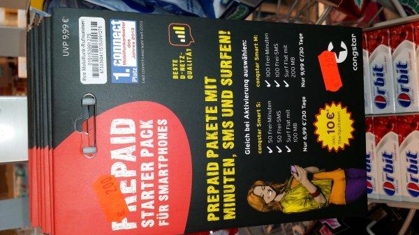 Congstar Prepaid Starterpaket für 2€ @ DM Markt Mutterstadt