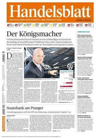6 Monate Handelsblatt digital