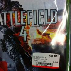 [LOKAL MM Trier] BF4 Xbox One 15€